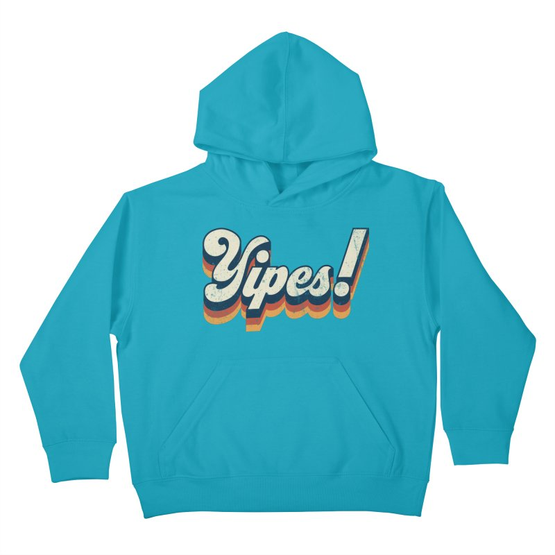 Yipes! Kids Pullover Hoody by Luis Romero Shop
