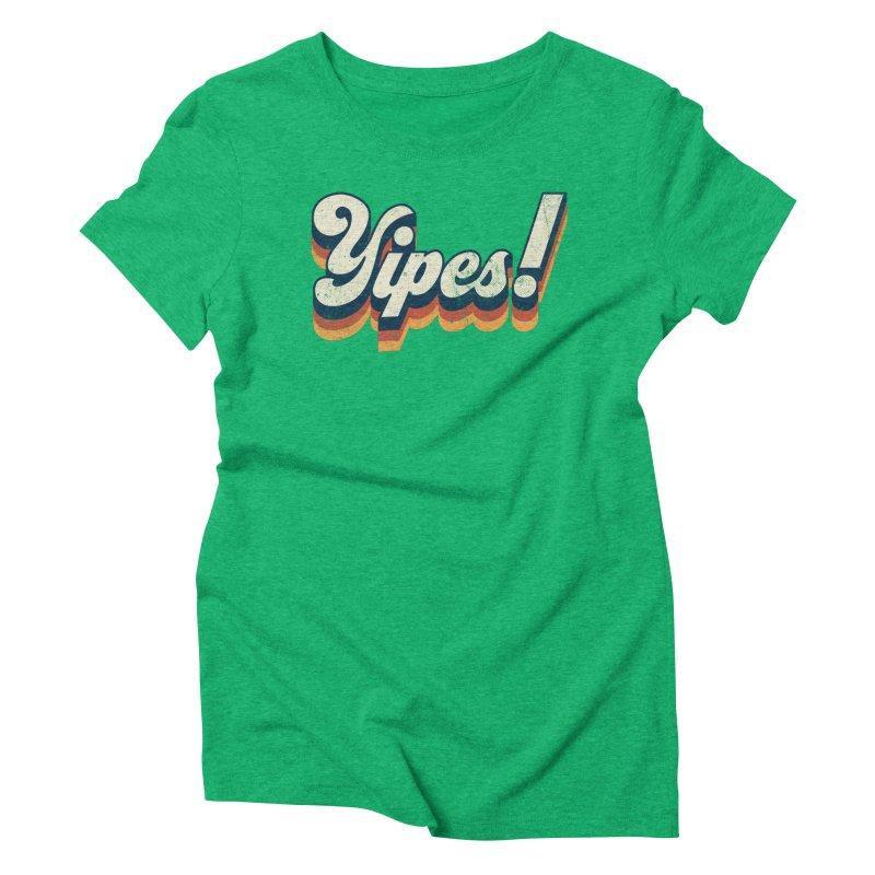 Yipes! Women's Triblend T-Shirt by Luis Romero Shop
