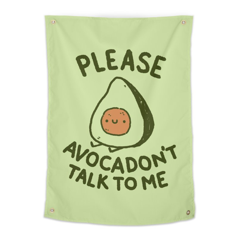 Avocadon't Home Tapestry by Luis Romero Shop