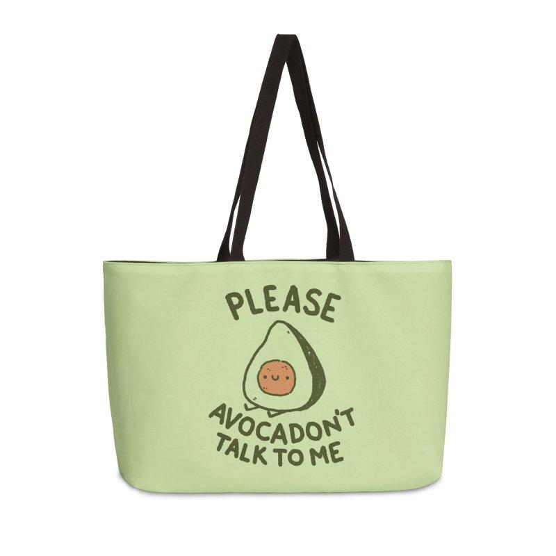 Avocadon't Accessories Weekender Bag Bag by Luis Romero Shop