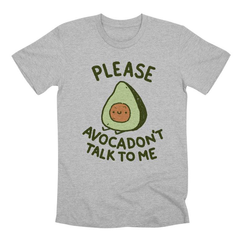 Avocadon't Men's Premium T-Shirt by Luis Romero Shop