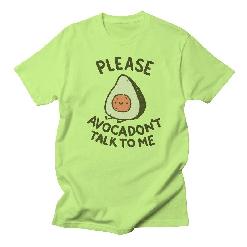 Avocadon't Women's Regular Unisex T-Shirt by Luis Romero Shop
