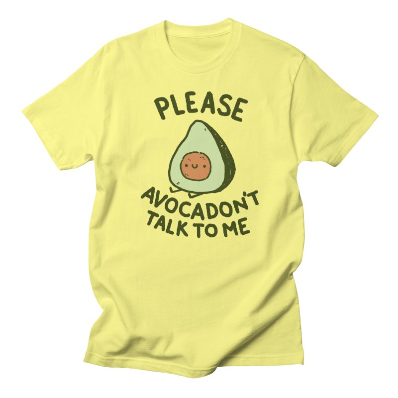 Avocadon't Men's Regular T-Shirt by Luis Romero Shop