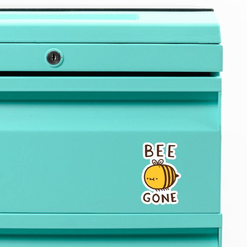 Bee Gone Accessories Magnet by Luis Romero Shop
