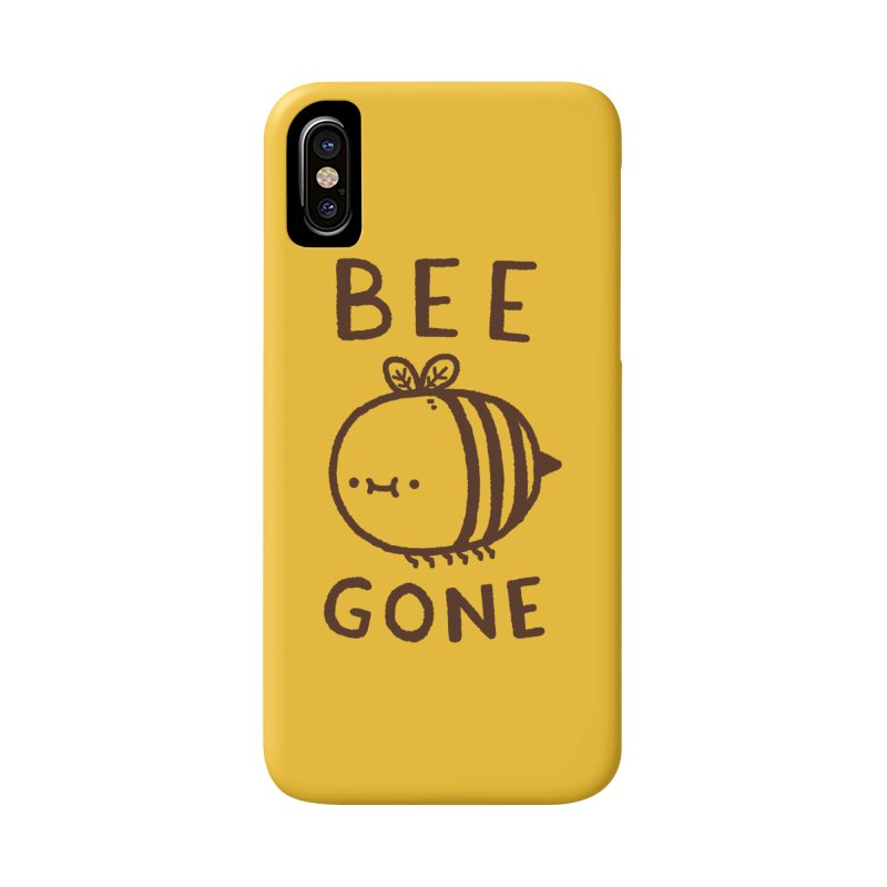Bee Gone Accessories Phone Case by Luis Romero Shop