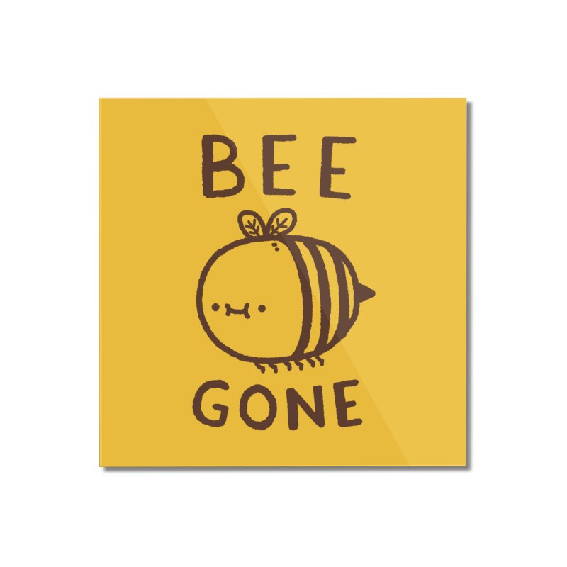 Bee Gone Home Mounted Acrylic Print by Luis Romero Shop