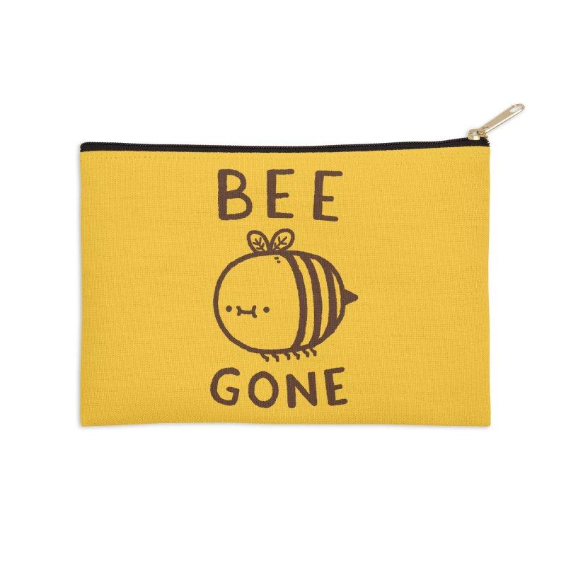 Bee Gone Accessories Zip Pouch by Luis Romero Shop