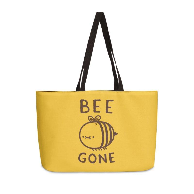 Bee Gone Accessories Weekender Bag Bag by Luis Romero Shop