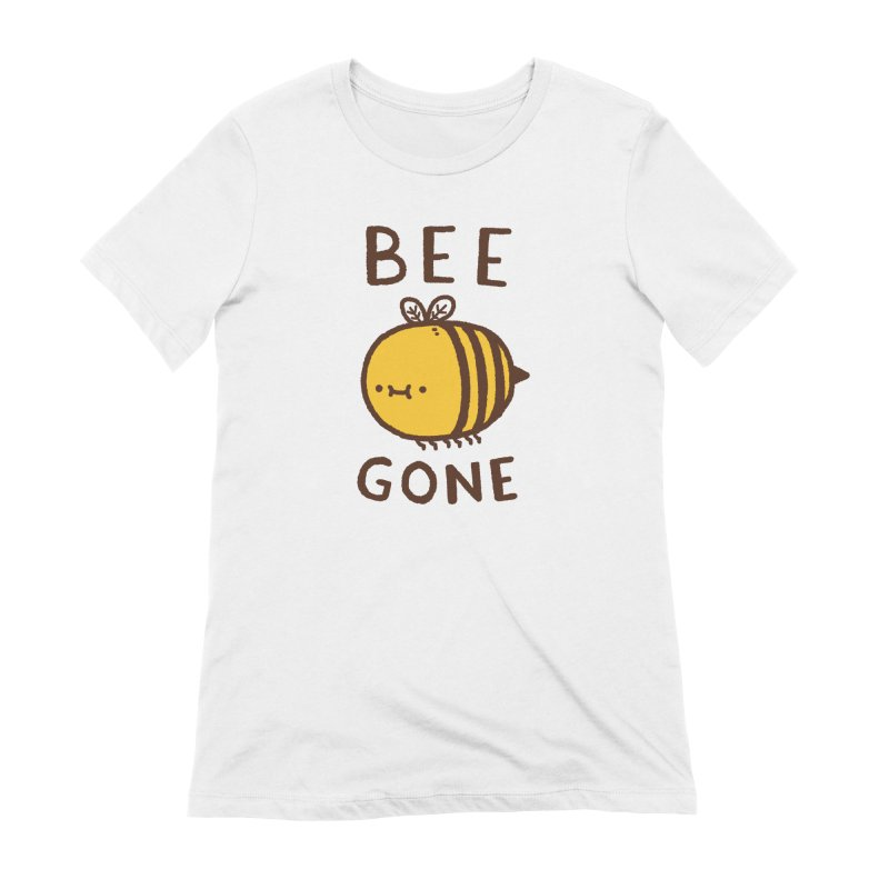 Bee Gone Women's Extra Soft T-Shirt by Luis Romero Shop