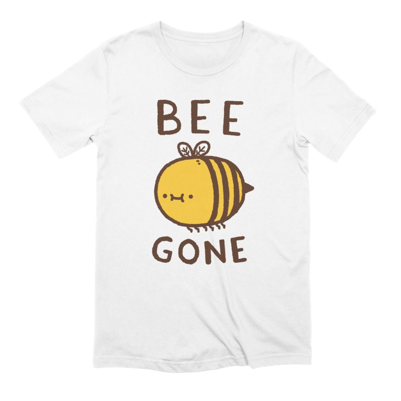 Bee Gone Men's Extra Soft T-Shirt by Luis Romero Shop