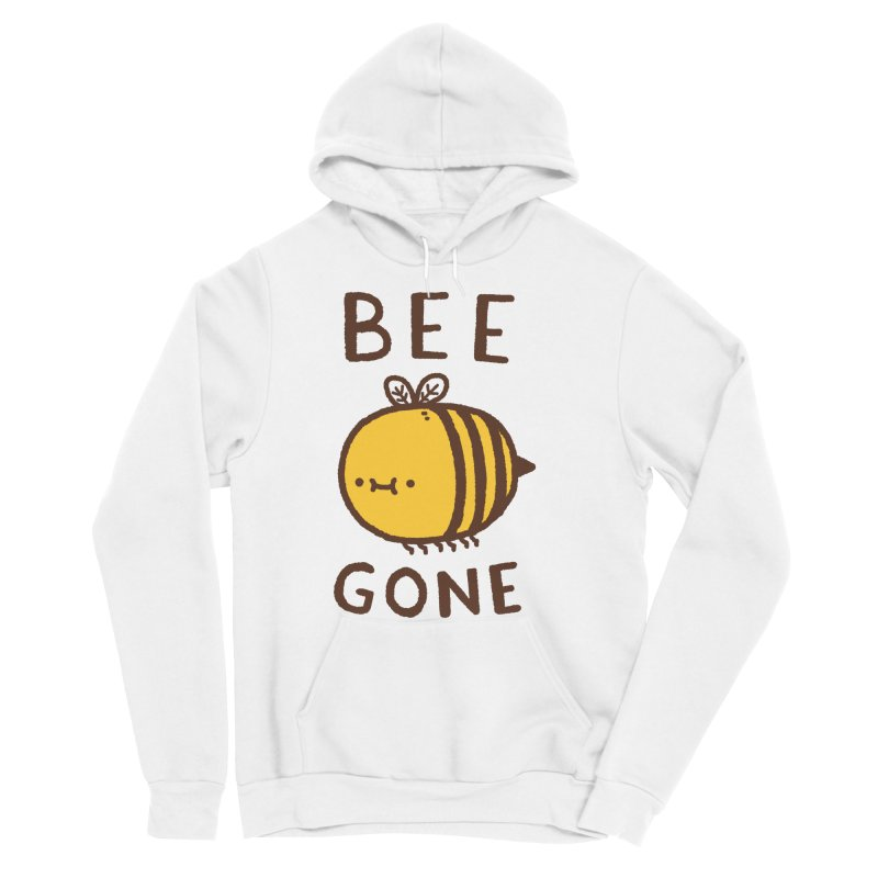 Bee Gone Men's Sponge Fleece Pullover Hoody by Luis Romero Shop