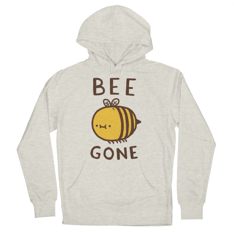 Bee Gone Men's French Terry Pullover Hoody by Luis Romero Shop