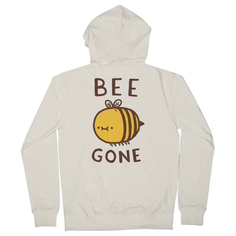 Bee Gone Women's French Terry Zip-Up Hoody by Luis Romero Shop