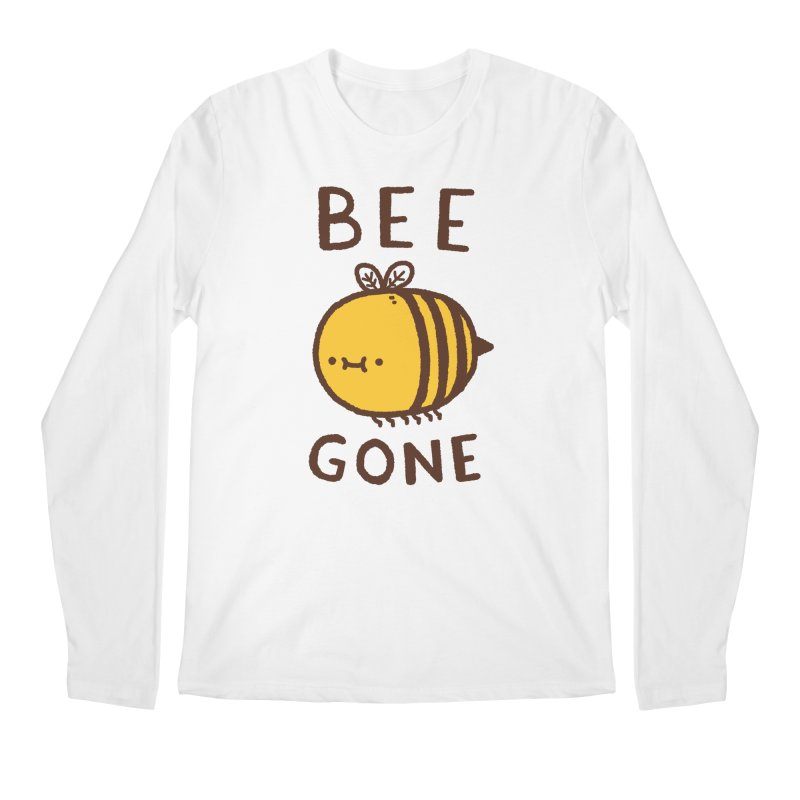 Bee Gone Men's Regular Longsleeve T-Shirt by Luis Romero Shop