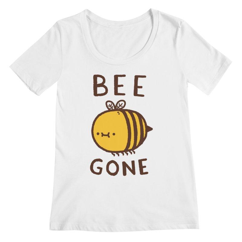 Bee Gone Women's Regular Scoop Neck by Luis Romero Shop
