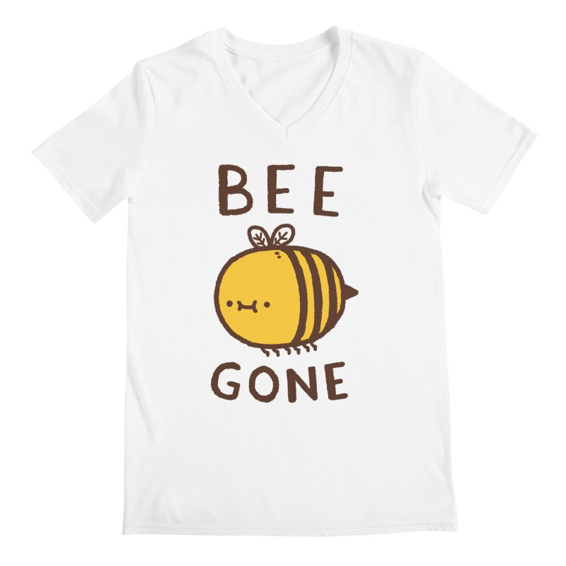 Bee Gone Men's Regular V-Neck by Luis Romero Shop