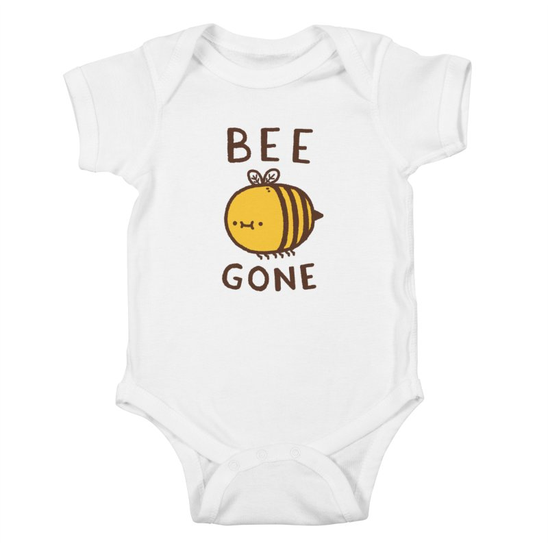 Bee Gone Kids Baby Bodysuit by Luis Romero Shop