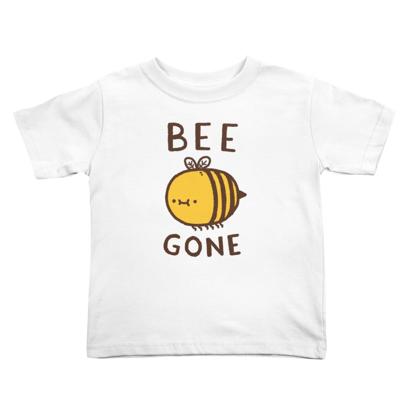 Bee Gone Kids Toddler T-Shirt by Luis Romero Shop