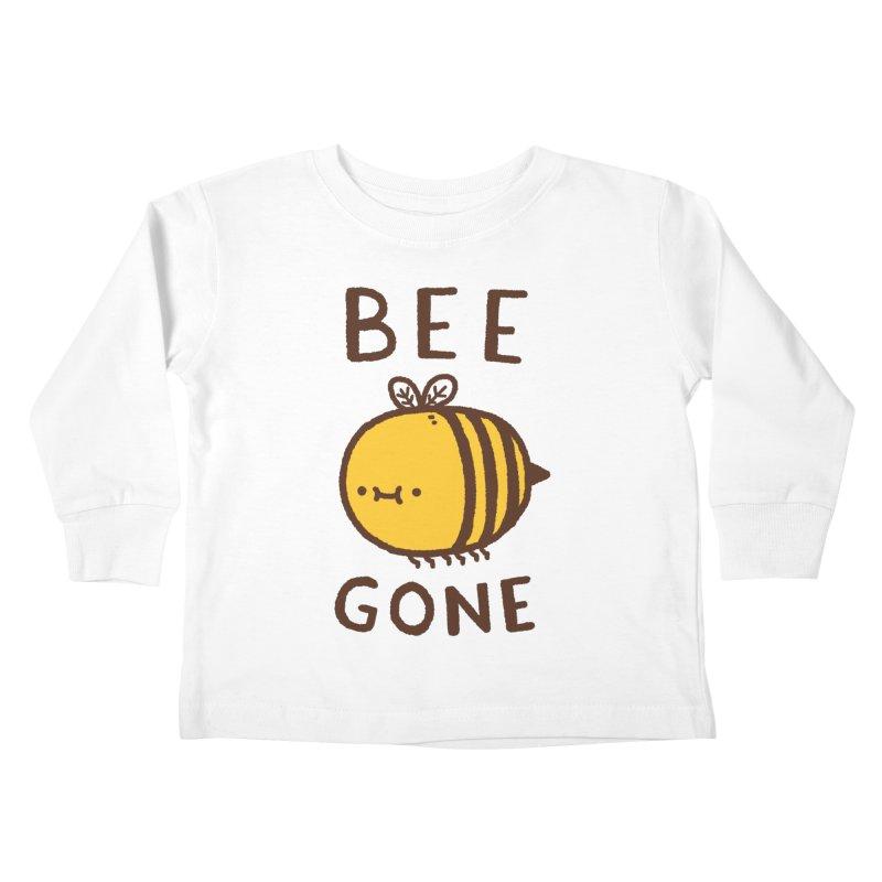 Bee Gone Kids Toddler Longsleeve T-Shirt by Luis Romero Shop