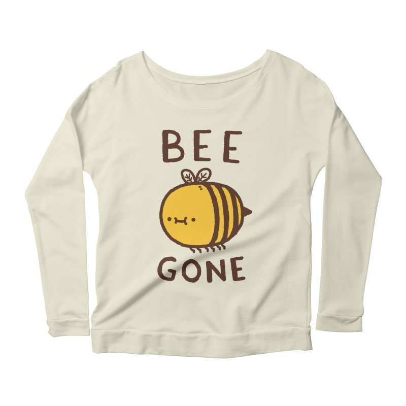 Bee Gone Women's Scoop Neck Longsleeve T-Shirt by Luis Romero Shop