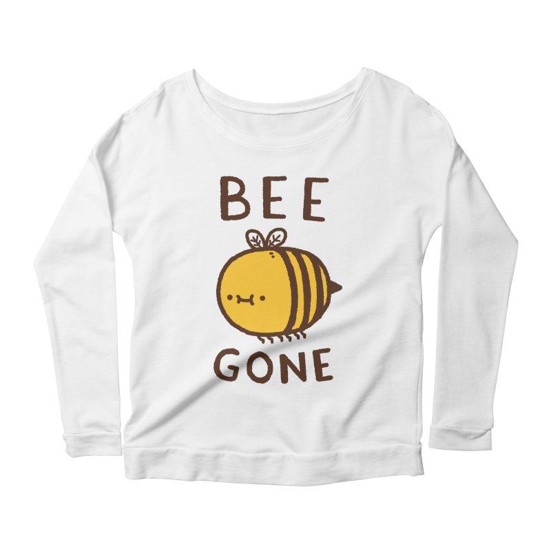 Bee Gone Women's Scoop Neck Longsleeve T-Shirt by Luis Romero Shop