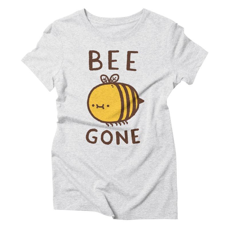Bee Gone Women's Triblend T-Shirt by Luis Romero Shop