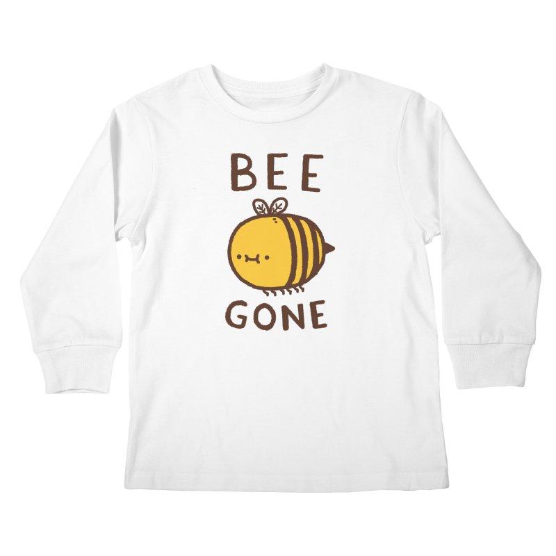 Bee Gone Kids Longsleeve T-Shirt by Luis Romero Shop