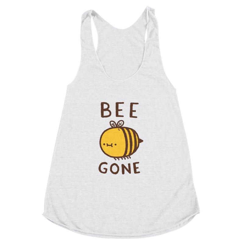 Bee Gone Women's Racerback Triblend Tank by Luis Romero Shop