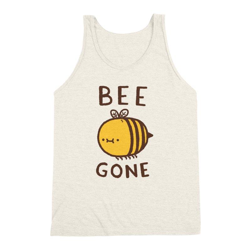 Bee Gone Men's Triblend Tank by Luis Romero Shop