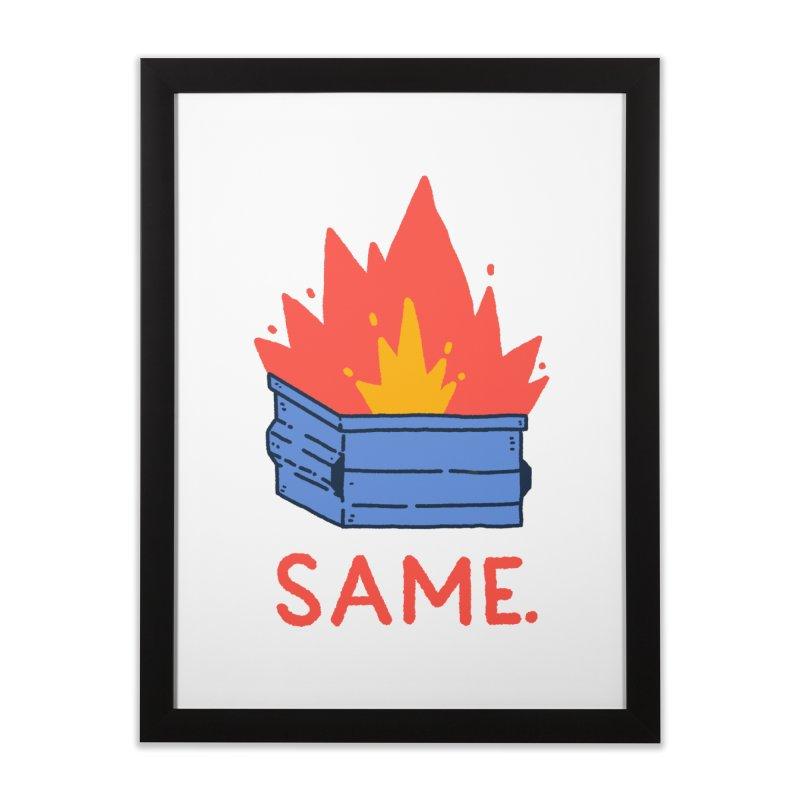 Same. Home Framed Fine Art Print by Luis Romero Shop