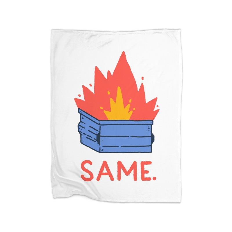 Same. Home Fleece Blanket Blanket by Luis Romero Shop