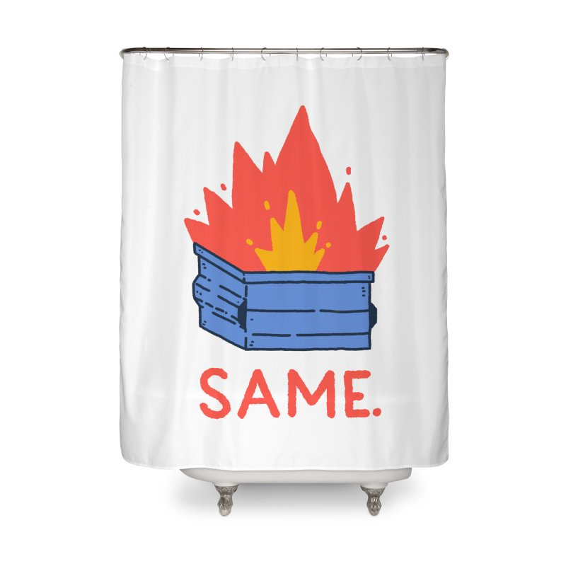 Same. Home Shower Curtain by Luis Romero Shop