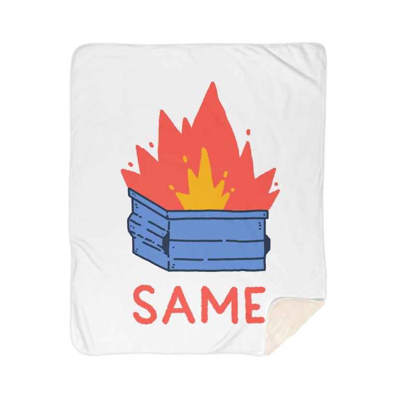 Same. Home Sherpa Blanket Blanket by Luis Romero Shop
