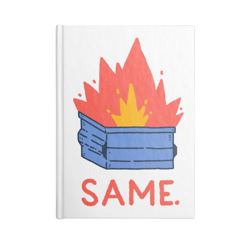 Same. Accessories Lined Journal Notebook by Luis Romero Shop
