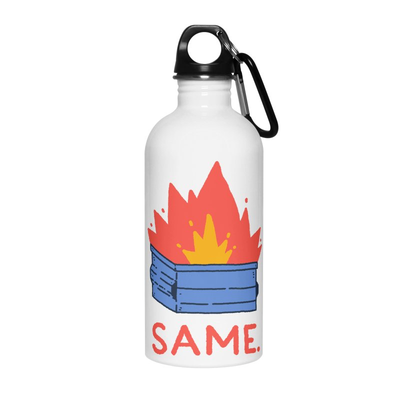 Same. Accessories Water Bottle by Luis Romero Shop