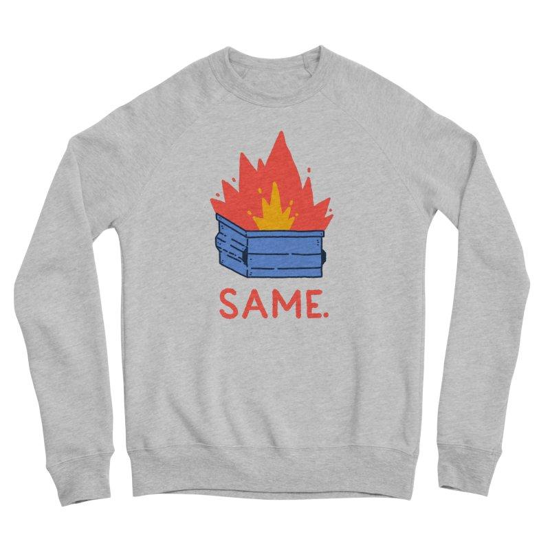 Same. Women's Sweatshirt by Luis Romero Shop