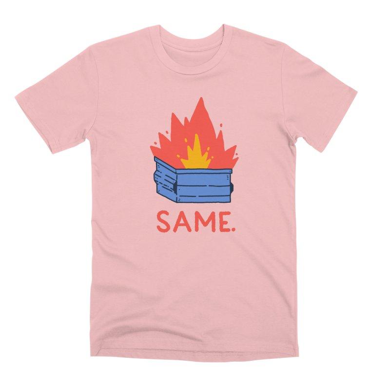 Same. Men's Premium T-Shirt by Luis Romero Shop
