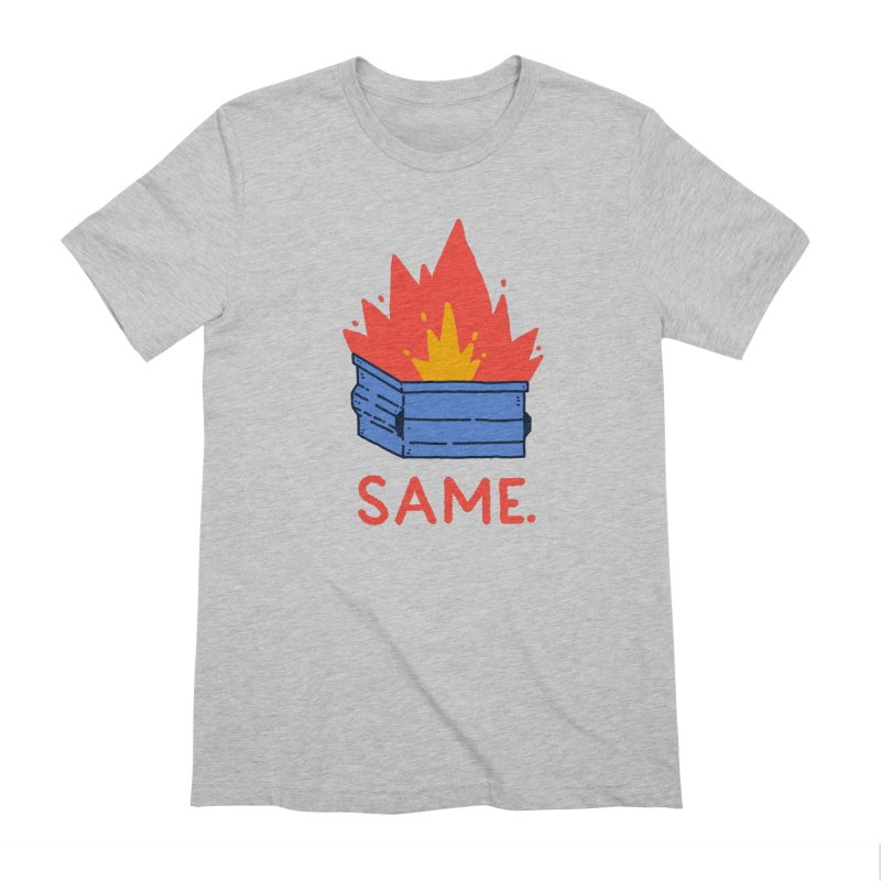 Same. Men's Extra Soft T-Shirt by Luis Romero Shop