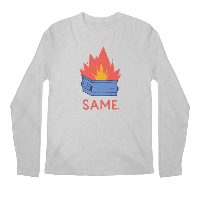 Same. Men's Regular Longsleeve T-Shirt by Luis Romero Shop