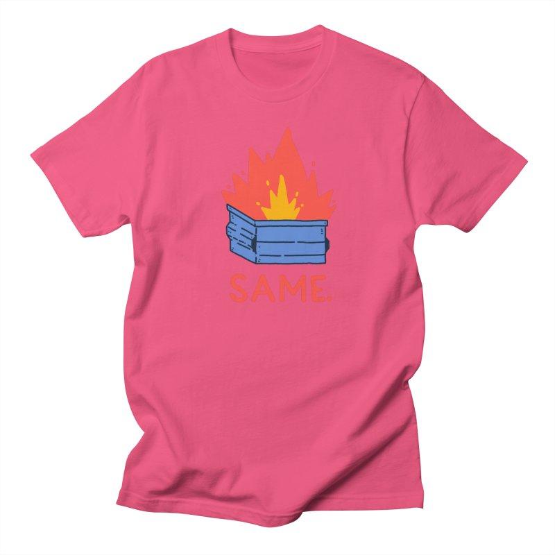 Same. Men's Regular T-Shirt by Luis Romero Shop