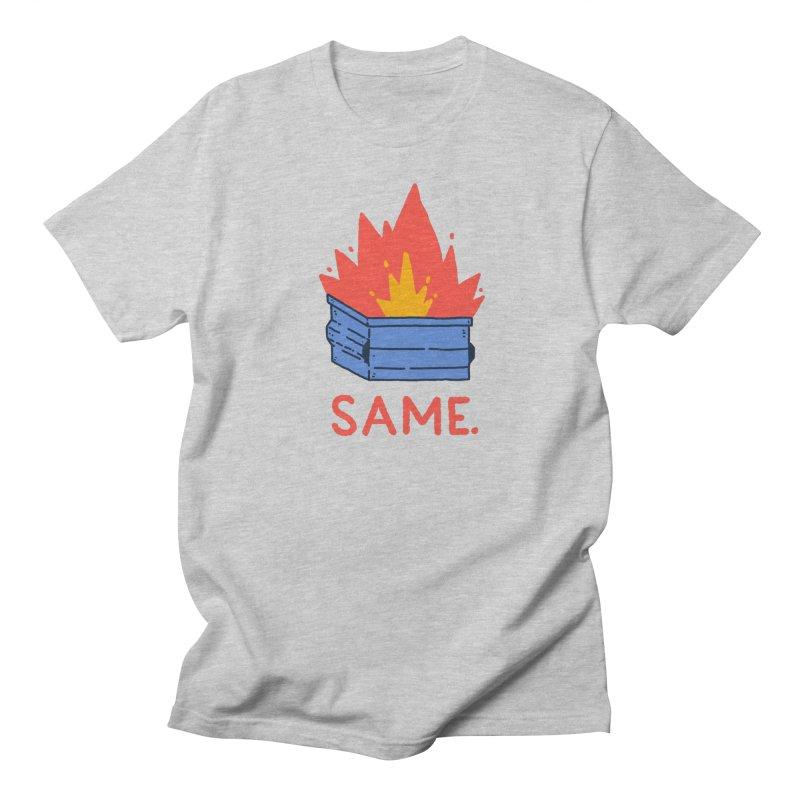 Same. Women's Regular Unisex T-Shirt by Luis Romero Shop