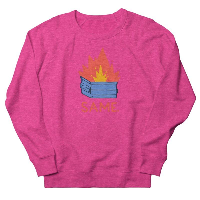 Same. Men's French Terry Sweatshirt by Luis Romero Shop