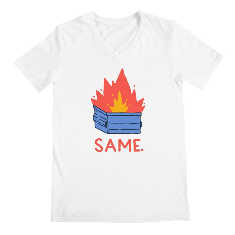 Same. Men's Regular V-Neck by Luis Romero Shop