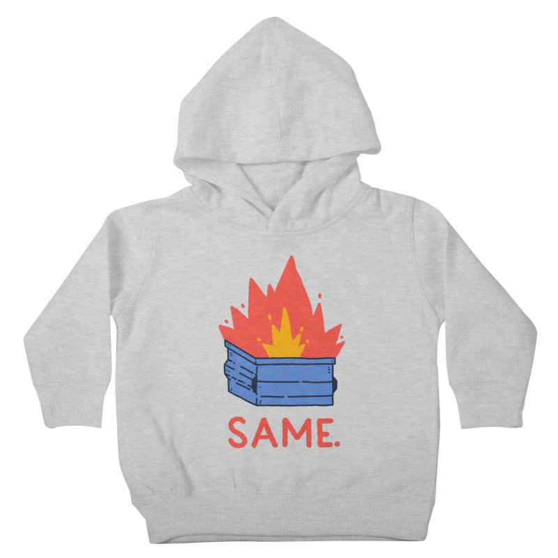 Same. Kids Toddler Pullover Hoody by Luis Romero Shop