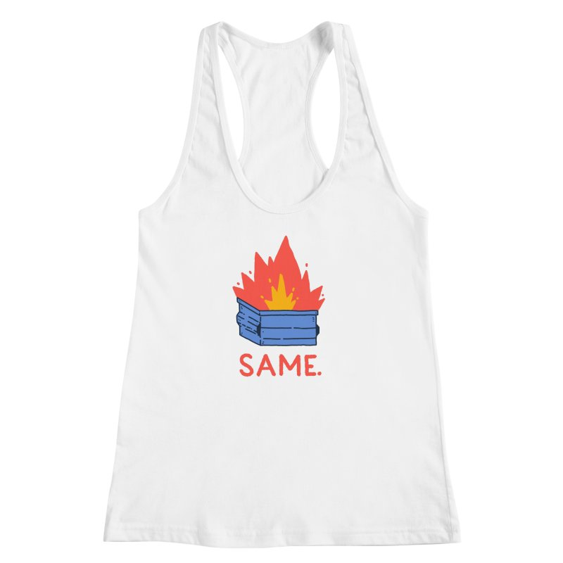Same. Women's Racerback Tank by Luis Romero Shop