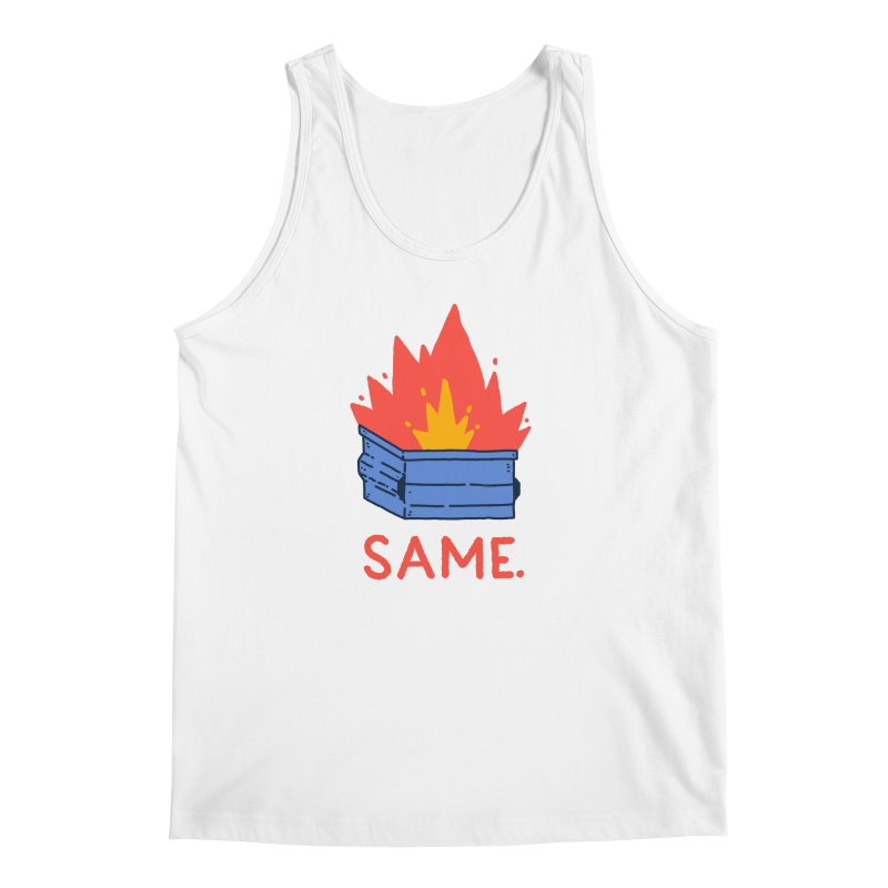 Same. Men's Regular Tank by Luis Romero Shop