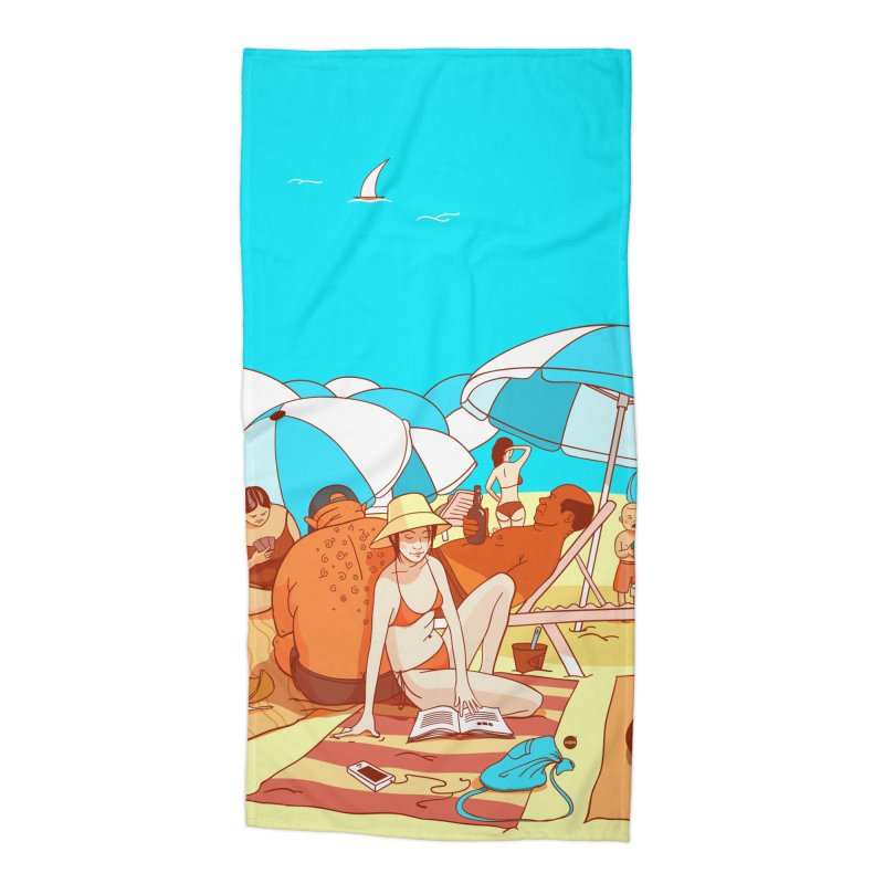 The Beach Accessories Beach Towel by Katerina Lyadova | Art