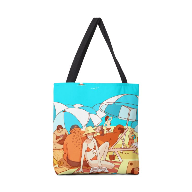The Beach Accessories Bag by Katerina Lyadova   Art