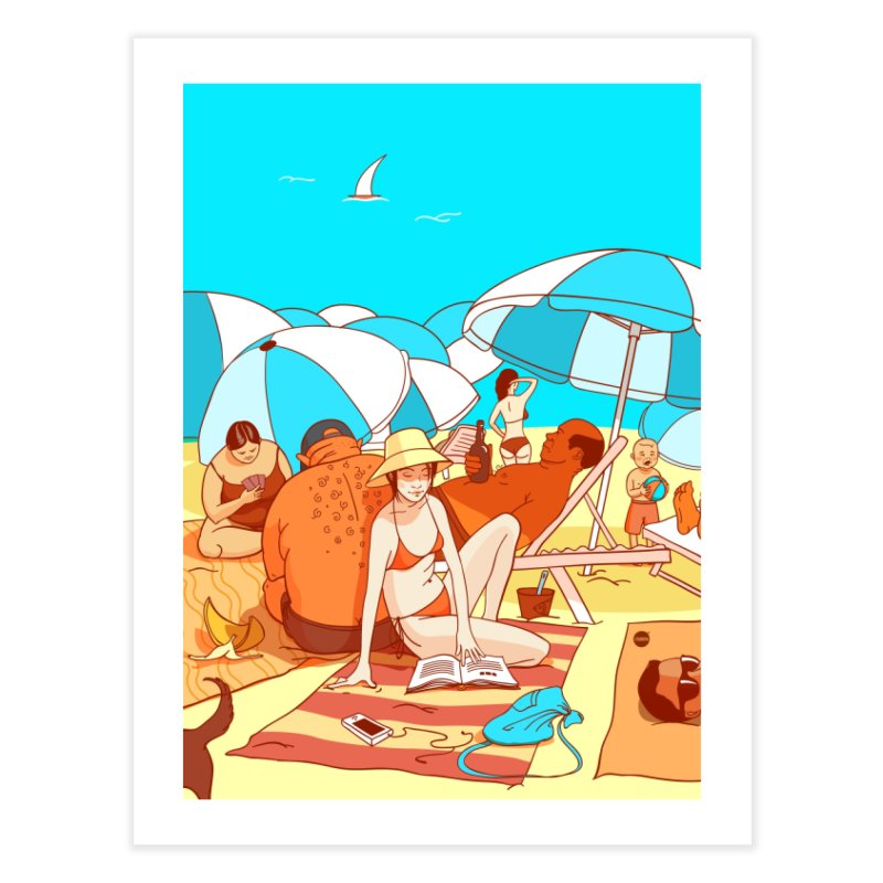 The Beach Home Fine Art Print by Katerina Lyadova | Art