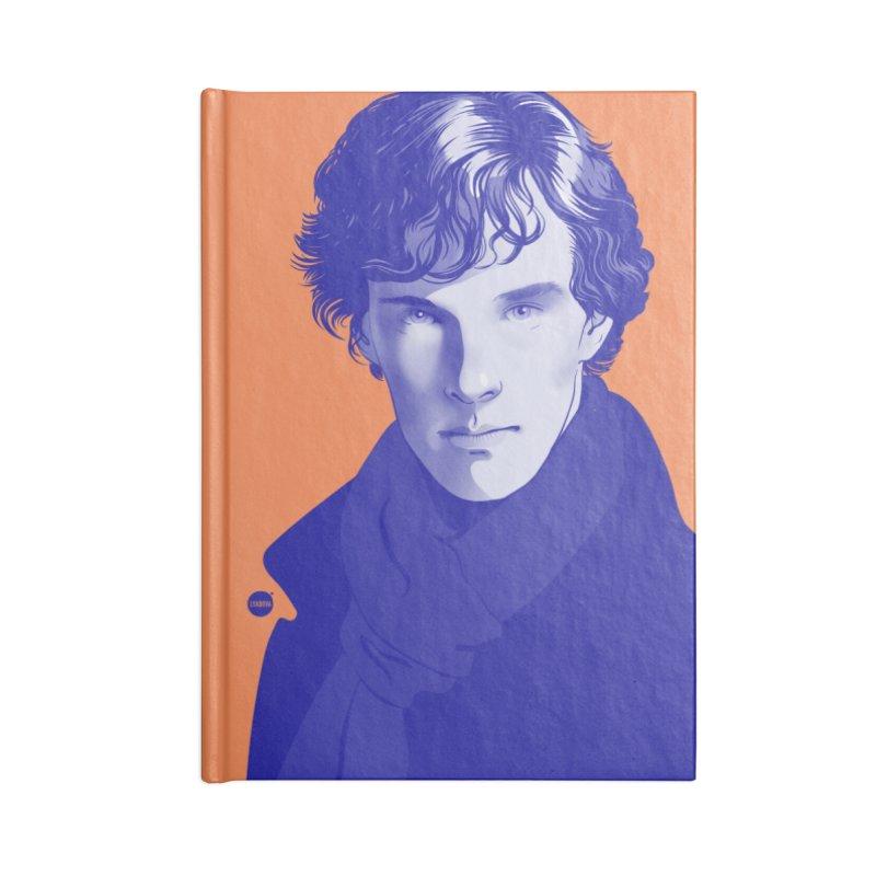 Sherlock Accessories Notebook by Katerina Lyadova   Art